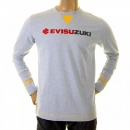 EVISU Rare Authentic Sky Blue EVISUZUKI T Shirt