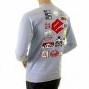 EVISU Rare Authentic Sky Blue EVISUZUKI T Shirt