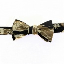 RMC JEANS Rare Vintage Tiger Tea Camo Cotton Bow Tie for Men