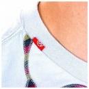 RED DOT Crew neck headphones t shirt