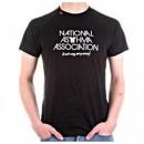 RED DOT National Asthma Association Black T Shirt