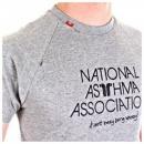 RED DOT National Asthma Association Grey T Shirt