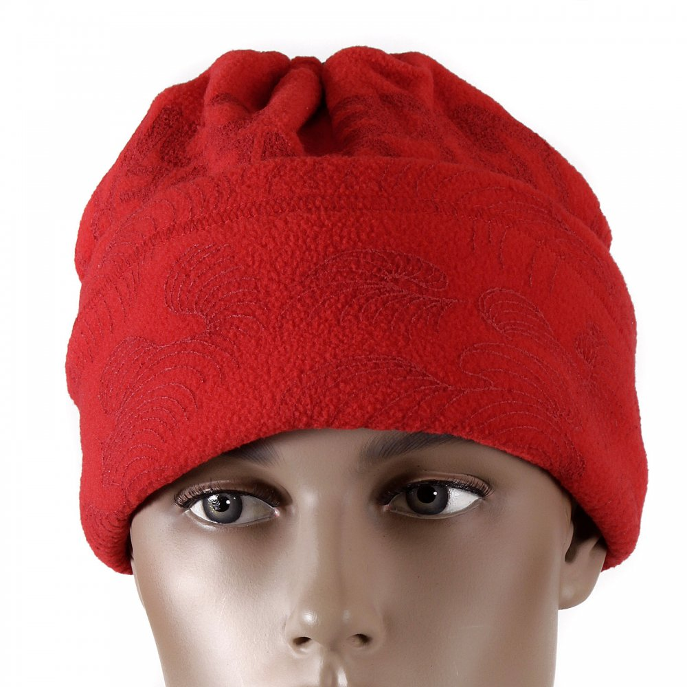 752cae30ec5 Sizzling Red Fleece Neck Warmer Snood by RMC Jeans UK