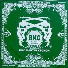 100% cotton mens green printed bandana