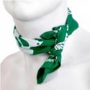 RMC JEANS 100% cotton mens green printed bandana