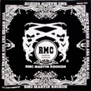 RMC JEANS 100% cotton mens printed black bandana