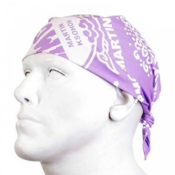 RMC JEANS 100% cotton mens printed light purple bandana