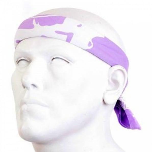 RMC JEANS 100% cotton mens printed light purple bandana
