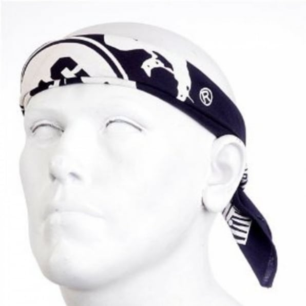 RMC JEANS 100% Cotton Mens printed Navy bandana