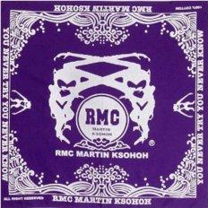 100% cotton mens printed purple bandana