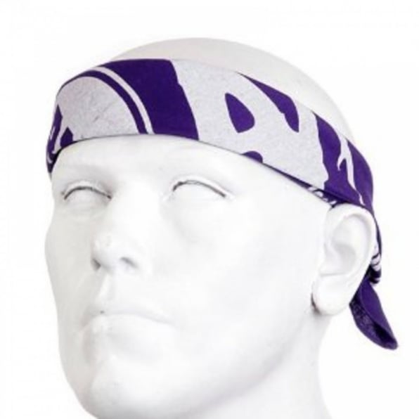 RMC JEANS 100% cotton mens printed purple bandana
