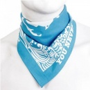 RMC JEANS 100% Cotton Mens printed sky blue bandana