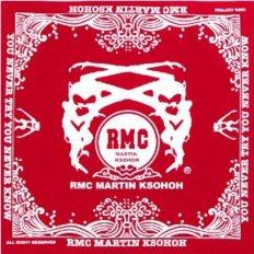 100% Cotton mens red bandana printed