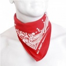 RMC JEANS 100% Cotton mens red bandana printed