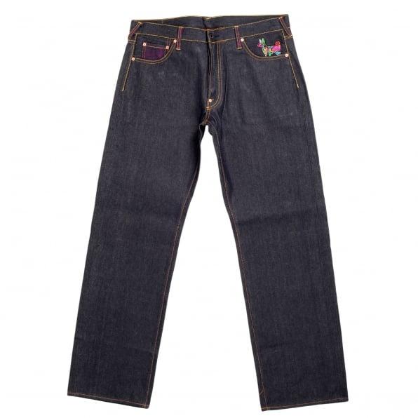 RMC JEANS 2 Ladies Super Exclusive Vintage Dark Indigo Selvedge Raw Denim Jean
