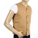 RMC JEANS Biscuit Cotton Vintage Cut Regular Fit Lightly Padded Waistcoat