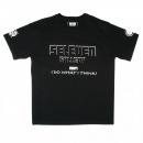 RMC JEANS Black crew neck regular fit short sleeve t-shirt