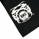RMC JEANS Black crew neck regular fit short sleeve t-shirt