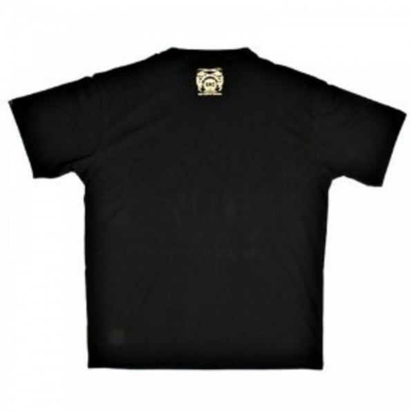 RMC JEANS Black Crew Neck Regular Fit Short Sleeve T-Shirt with Printed Crest RMC Logo