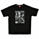 RMC JEANS Black Crew Neck Regular Fit Short Sleeve T-Shirt with Printed RMC Stone
