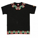 RMC JEANS Black Crew Neck Regular Fit Short Sleeved T-Shirt