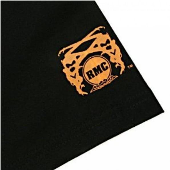 RMC JEANS Black Crew Neck Regular Fit Short Sleeved T-Shirt