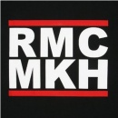 RMC JEANS Black Crew Neck Regular Fit T-Shirt with Large RMC MKH Print
