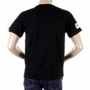 RMC JEANS Black Crew Neck Short Sleeve Regular Fit Charity T-shirt