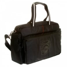 Black Nylon Hand Held Despatch Bag