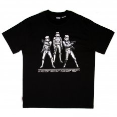 Black Regular Fit Crew Neck Limited Edition Stormtroopers Star Wars T-Shirt