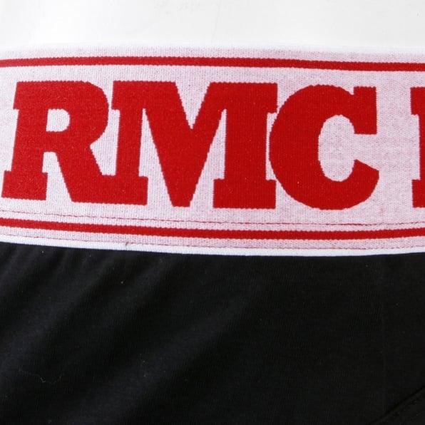RMC JEANS Black Stretch Cotton Briefs for Men
