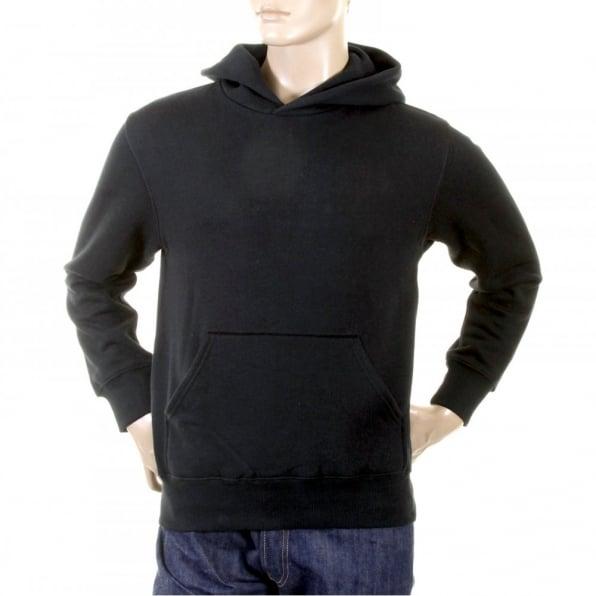 RMC JEANS Black Untunk Overhead Large Fitting Hooded Sweatshirt