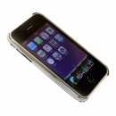 RMC JEANS Buy Silver Covered Aluminium IPHONE 3 Case with Slider
