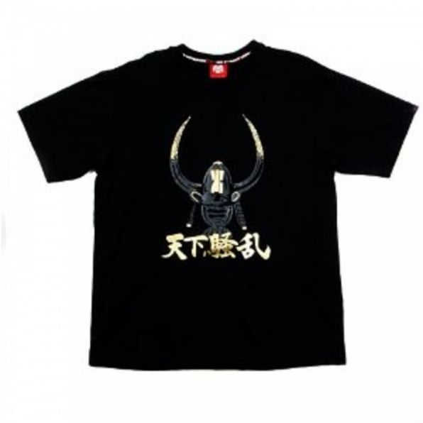 RMC JEANS Crew Neck Black WORLD DISTURBANCE T-shirt