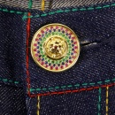 RMC JEANS Custom Made Ruby and Blue Sapphire 5 Button Set