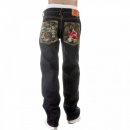RMC JEANS Dark Indigo Raw Denim Jeans for Men in 100% Cotton