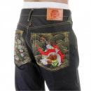 RMC JEANS Dark Indigo Raw Denim Jeans for Men in 100% Cotton