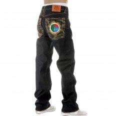 Dark Indigo Raw Denim Jeans with Super Exclusive Design