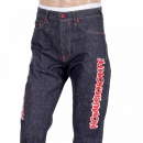 RMC JEANS Embroidered Fuji Rock Festival Indigo Denim Jeans