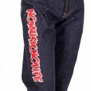 RMC JEANS Embroidered Fuji Rock Festival Indigo Denim Jeans