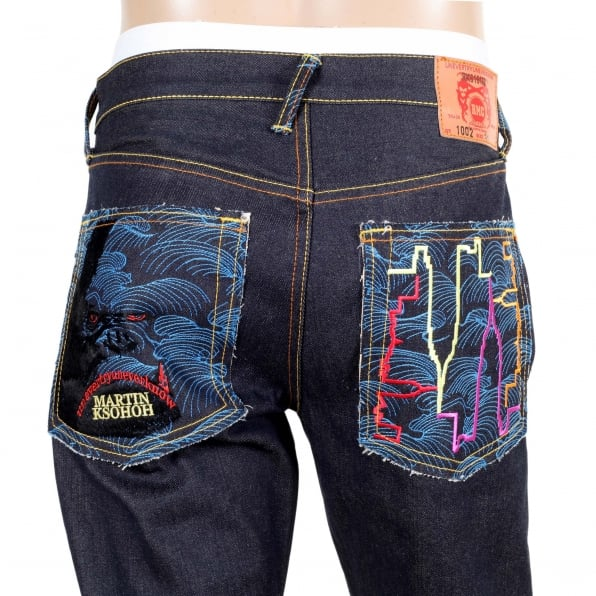 RMC JEANS Exclusive Dark Indigo Raw Selvedge King Kong Denim Jeans