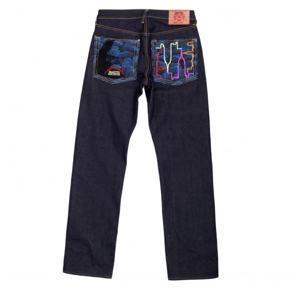 RMC JEANS Exclusive Dark Indigo Raw Selvedge King Kong Denim Jeans