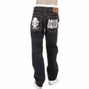RMC JEANS Exclusive Design Dark Indigo Slim Cut Raw Denim Jeans