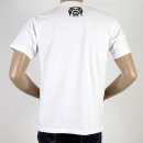 RMC JEANS FBI White Crew Neck Short Sleeve Regular Fit T-shirt for Men