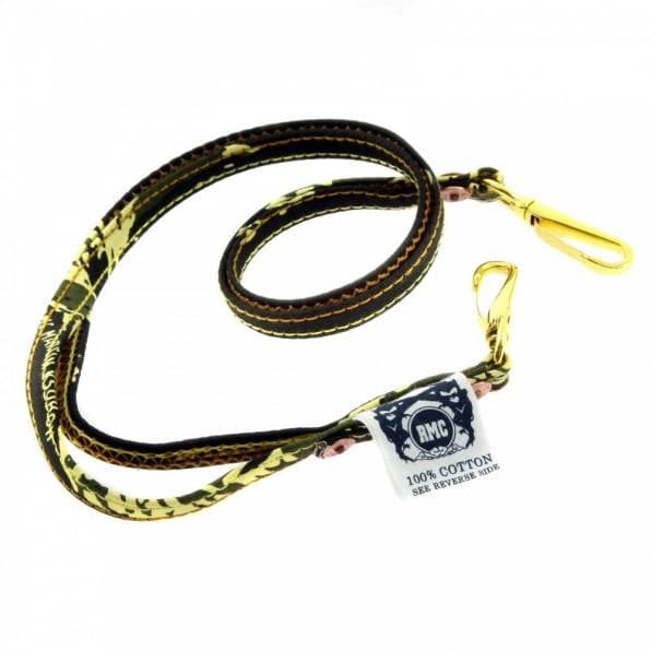 RMC JEANS Green Tiger Camo Lanyard Boxed Key Chain