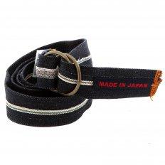 Handmade selvedge denim belt