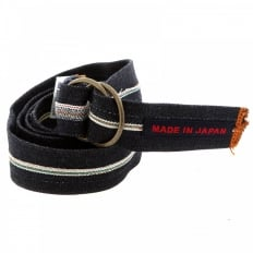 Handmade selvedge denim belt