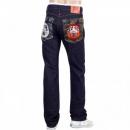 RMC JEANS Japanese Selvedge Indigo Raw Slim Fit Maruda Fujin Raijin Denim Jeans