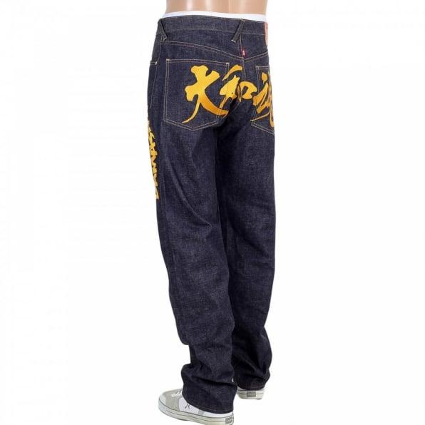 RMC JEANS Japanese Selvedge Slim Fit Yamato Damashi 12th Anniversary Indigo Jeans