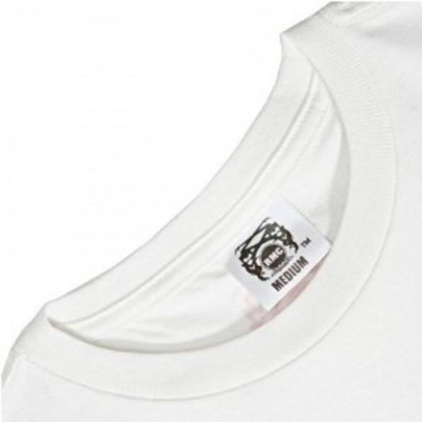 RMC JEANS Knifemen White Short Sleeve Crew Neck Regular Fit T-Shirt
